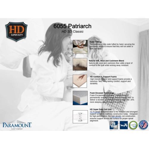 Paramount Sleep - Heavy Duty - Patriarch