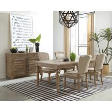 Sonora 7pc Dining Set in Snowy Desert Finish