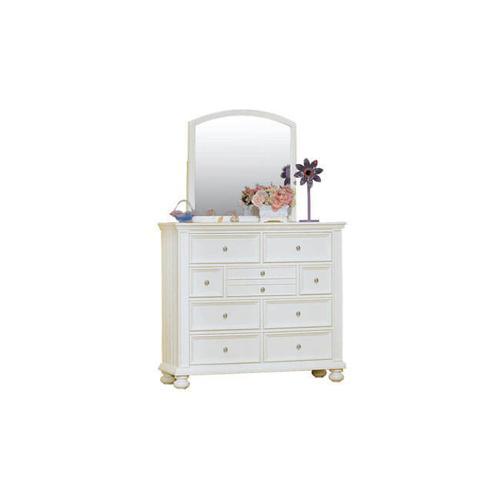 Cape Cod Eggshell White 9-Drawer Tall Dresser
