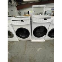 See Details - **ANKENY LOCATION LAUNDRY GAS PAIR** WV9600 5.5 Total cu. ft. FlexWash Washer AND 7.5 cu. ft. FlexDry Electric Dryer SET **SCRATCH OR DENT ITEM 1 YEAR WARRANTY