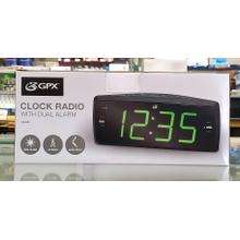 Clock Radio With Dual Alarm