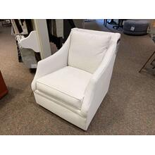 Kara Accent Swivel Chair - Down Filled - Crypton Fabric