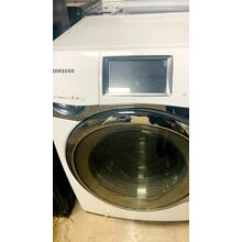 USED- 4.5 cu. ft. King-size Capacity, Touch Screen LCD Front-Load Washer (White)- FLWAS27W-U SERIAL #64