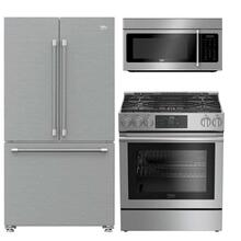 Beko Slide-in Range Kitchen Suite
