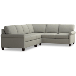Spencer Left Sectional - Seamist Fabric