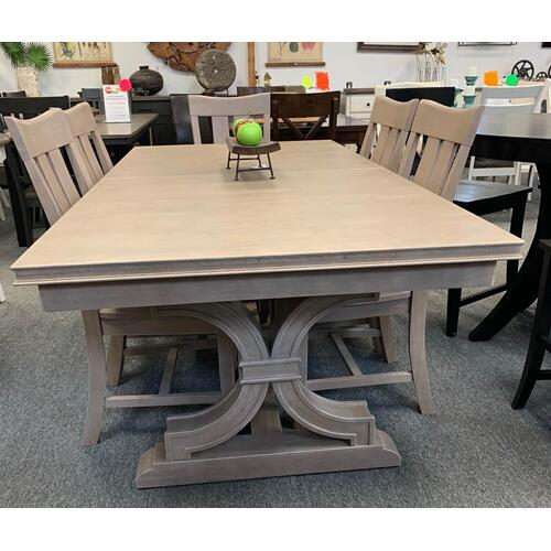 "5 Piece ""Cosmopolitan"" Trestle Table Set"