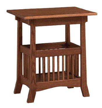 Country Value Woodworks - Royal Magazine End Table