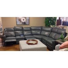 4 piece recliner sectional