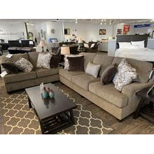 Ashley Braemer Brown Sofa and Loveseat