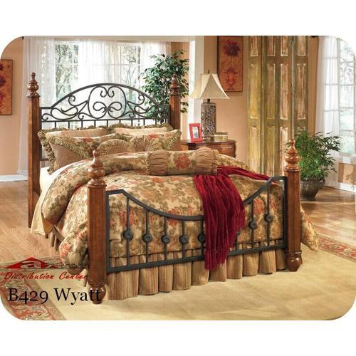Ashley Furniture - Ashley B429 Wyatt Bedroom set Houston Texas USA Aztec Furniture