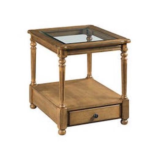 England Furniture - Candlewood End Table H676915 - Warm Oak