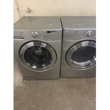 Refurbished Gray LG Front Load Washer Dryer Set Please call store if you would like additional pictures. This set carries our 6 month warranty, MANUFACTURER WARRANTY AND REBATES ARE NOT VALID (Sold only as a set)