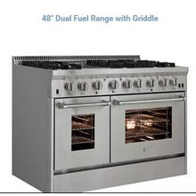 48in Dual Fuel Pro Range w/ Griddle