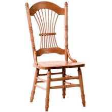 See Details - Peacock Side Chair