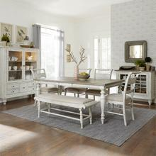 Whitney Grey Table & 6 Chairs