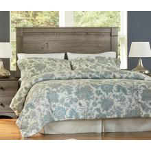 Weathered Grey Ash Perdue Headboard - Full/Queen