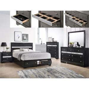 Crown Mark B4670 Regata Storage King Bedroom