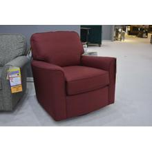 Darby Fabric Swivel Glider (RED)