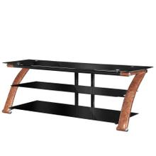 "Innovex TO065GBW Nexus 65"" EZ Burl Wood TV Stand"