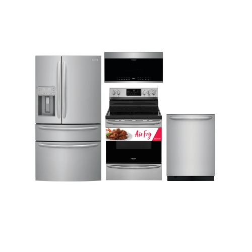 Frigidaire Gallery Stainless Steel Package