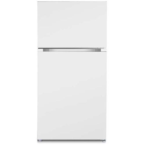 Ascoli - Ascoli ATFR1801EWE 18.2 Cu.Ft. White Top Freezer Refrigerator