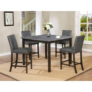Crown Mark 2877 Pompei Counter Height Dining Group