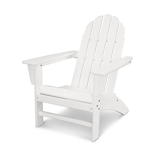 Polywood Furnishings - Vineyard Adirondack Chair in Vintage White