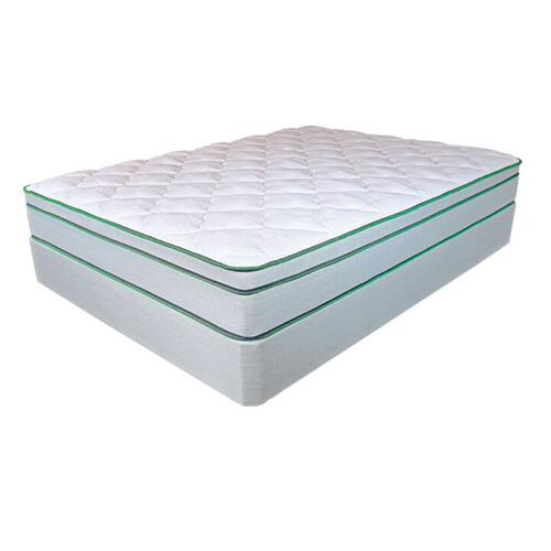 MATTRESS GROVE Athena Euro Top Luxury Plush Mattress & Foundation