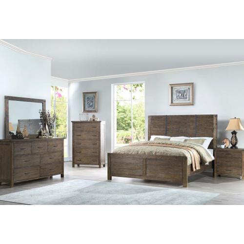 New Classic 4 Pc Queen Bedroom Set, Galleon B1111