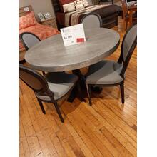 CLEARANCE Metal Dining Set 5pc