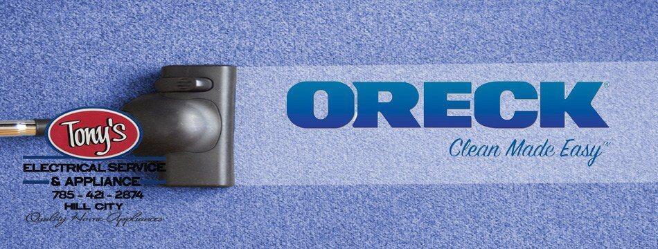 Shop Oreck!