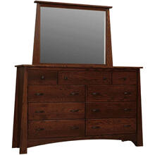 Unity Master Dresser 9 DR with Unity Low Mirror