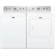 MAYTAG Large Capacity 3.4 Cu. Ft. Top Load Washer & 7.0 Cu. Ft Dryer with Wrinkle Control