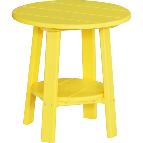 Deluxe End Table Yellow