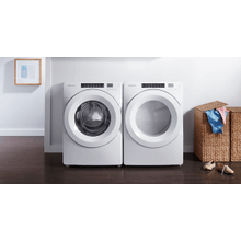 Amana Front Load Washer and Gas Dryer