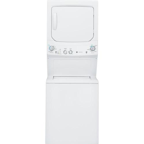 """GE Appliances - FULL SIZE 27"""" WIDE GAS STACK COMBO"""