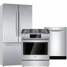 View Product - Bosch Stainless Gas 3-piece Kitchen Suite