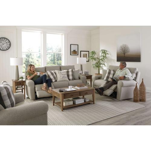 Jackson Furniture - Happy Place Power Lay Flat Reclining Loveseat Metal