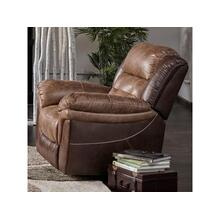 Cheers Two Toned Glider Recliner