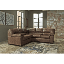 Bladen - Coffee - 2-Piece Sectional