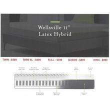 """Malouf Wellsville 11"""" Latex Hybrid Mattress"""
