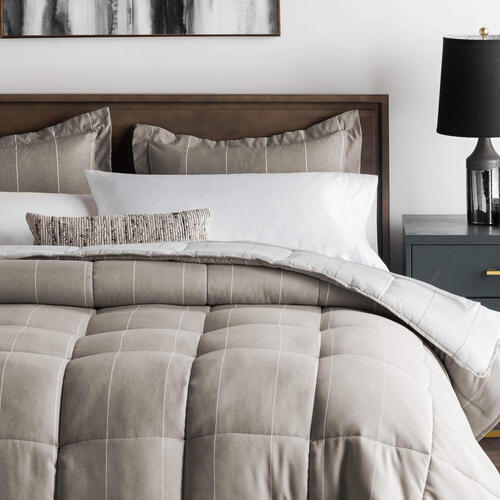 Chambray Comforter Set - Birch