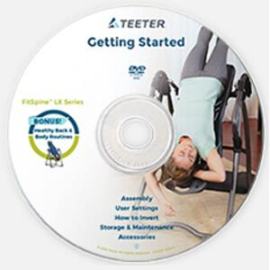 Teeter Hang Ups - Contour L5 Inversion Table