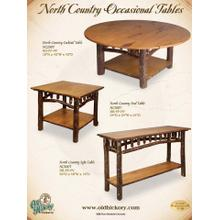 North Country Occasional Tables