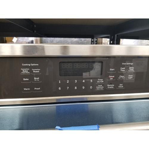 "Cafe 27"" Single Electric Wall Oven CK7000SHSS (FLOOR MODEL)"