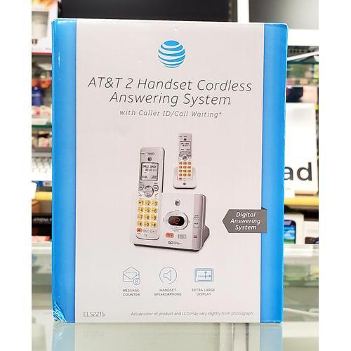 2 Handset Cordless Answering Machine