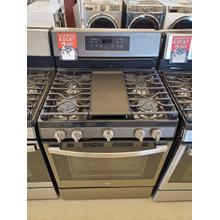 "GE® 30"" Free-Standing Gas Convection Range\"