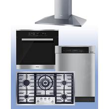 """See Details - MIELE - Save up to $1,800 on Miele Kitchen Packages of your choice. See 4-Pc """"Built-In"""" Example."""