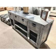 View Product - Industrial Media Console - Grey