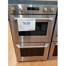 "See Details - Monogram 30"" Smart Double Electric Wall Oven ZET2PHSS (FLOOR MODEL)"